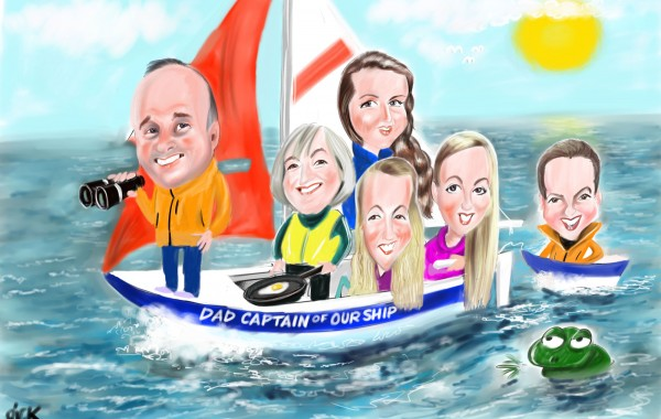 Caricatures from photos – Groups