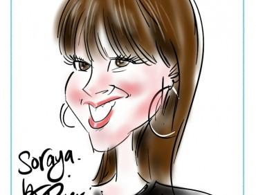 UKTV iPad caricatures