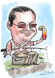caricature retirement gift