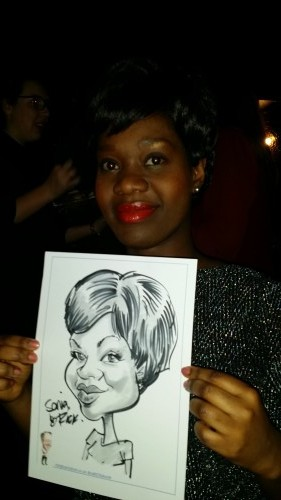 Caricatures @QubeLondon