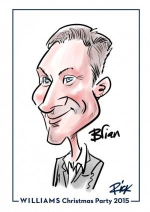 iPad caricatures @WilliamsRacing
